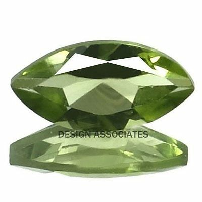 8X4 MM Marquise Cut Peridot   All Natural Without Treatment