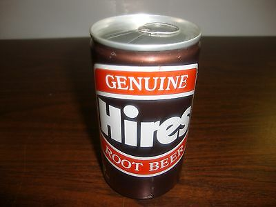 Hires Root Beer--Display Can--12 oz---Sealed Can--Empty--Never Had Soda---1980