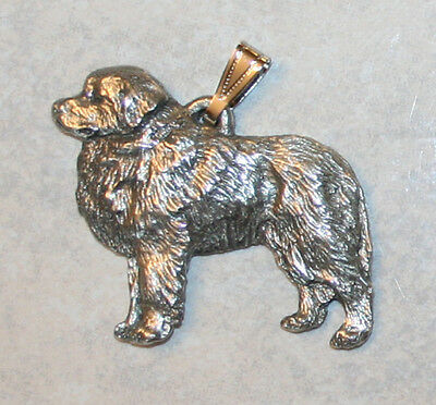 Great Pyrenees Dog Harris Fine Pewter Pendant USA Made