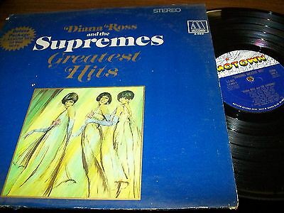 Diana Ross And The Supremes-Supremes Greatest Hits-2 LP-Motown-Gatefold
