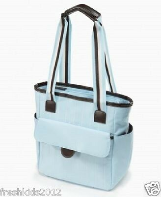 First Impressions Baby Blue Diaper Bag One Size NWT