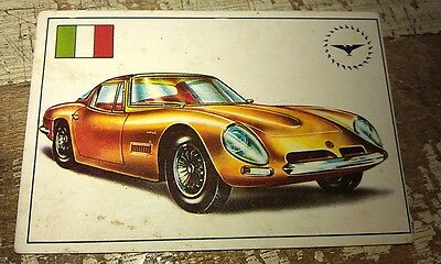 BIZZARINI GT - Famous Cars by Top Sellers Ltd UK Trade Card