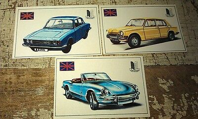 TRIUMPH Spitfire 1300 2000  - Famous Cars by Top Sellers Ltd UK Trade Cards