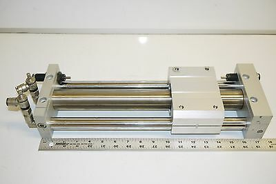 Smc Ncy2S40H-G1375-1125 Pneumatic Guided Rodless Actuator Cylinder