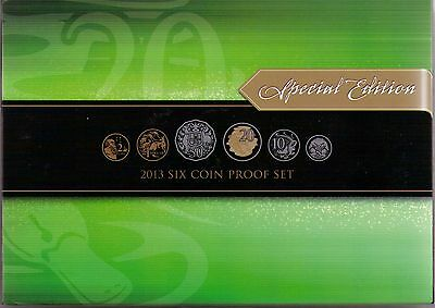 2013 Royal Australian Mint 6 Coin Proof Set - Special Edition