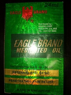 Dau xanh con o Medicated Oil Eagle Brand 1 bottle of 24 mL
