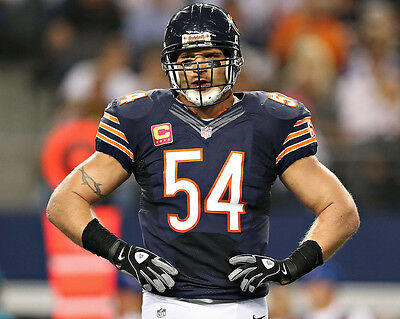 Chicago Bears 01 (Brian Urlacher)  American Football Photo Print