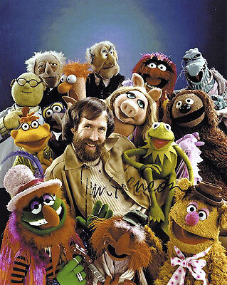 Jim Henson & The Muppets Signed Photo Print 01