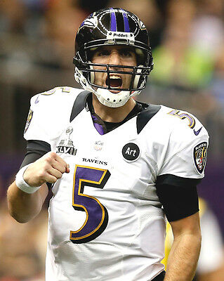 Ravens (Joe Flacco Quater Back) Superbowl2013 01 American Football Photo Print