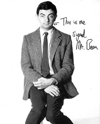 Rowan Atkinson (Mr Bean) Signed Photo Print 01