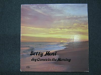 Joy Comes In The Morning Betty Moni~RARE AUTOGRAPHED Private Label Xian