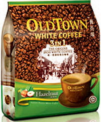 1 Pack OLDTOWN Old Town White Coffee 3 in 1 Hazelnut + Free Express Shipping