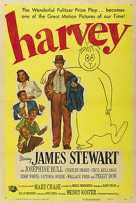 Harvey 01 (James Stewart) Film Poster Print