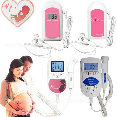 CE&FDA pocket fetal doppler,baby heart Rate monitor, baby sound&sonoline c1 3M
