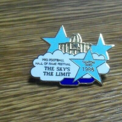 1986 Pro Football Hall of Fame, Inductees' Family Attendance Pin, Clean
