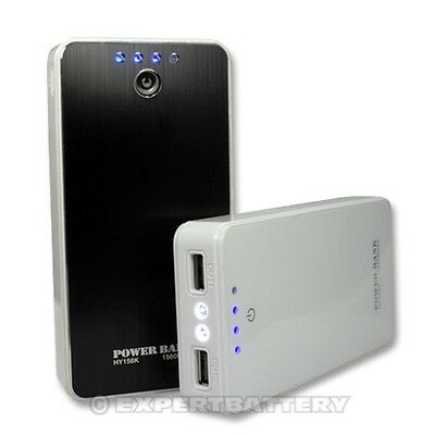 15600 Portable Power bank External Battery charger for Iphone 5 4 4s Samsung