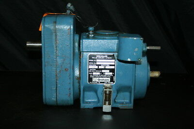 Variable speed Metallic traction drive N28AT15RA Ring-Roller Graham Doboy