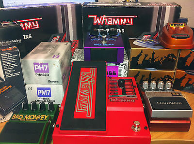 Guitar Effects Pedals Distortion Whammy Chorus Wah Flange Clearance Bargains
