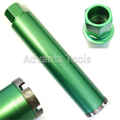 "2-1/4"" Wet Diamond Core Drill Bit for Concrete - Premium Green Series"