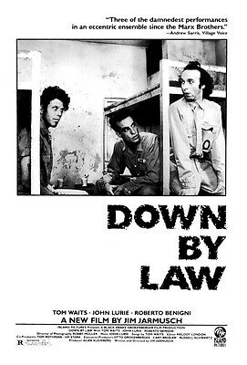 Down By Law (Tom Waits) Mini Film Poster Print 01