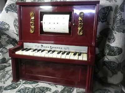pianolodeon (piano lodeon) silver nameplate upgrade