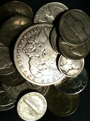 Best WHOLESALE 1/2 Pound OLD US JUNK SILVER COINS BULLION LOT 8 Oz All Pre 1965
