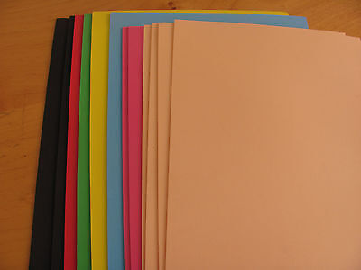 100 FOAMY SHEETS (EVA FOAM Sheets) For Fofuchas Doll/ANY CRAFT ART FOAM PROJECT
