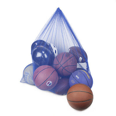 Blue Coach's Equipment Bag in Heavy Duty Mesh by Crown Sporting Goods