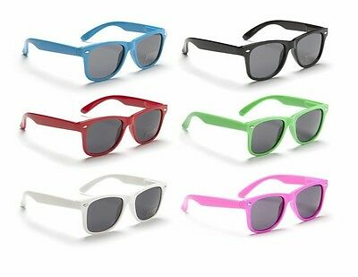 Childrens Kids Boys Girls Wayfarer Sunglasses Shades Full Uv 400 Protection