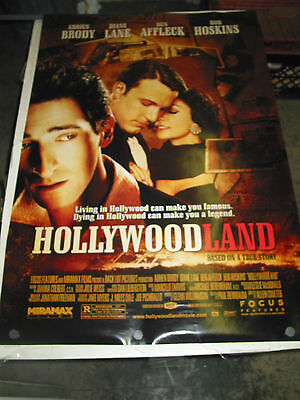 Hollywoodland / Orig. U.s. One Sheet Movie Poster (Adrien Brody) Ds