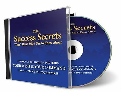 """Success Secrets """"They"""" Don't Wan't You to Know About-CD 12 Pack (11 new+2 used)"""