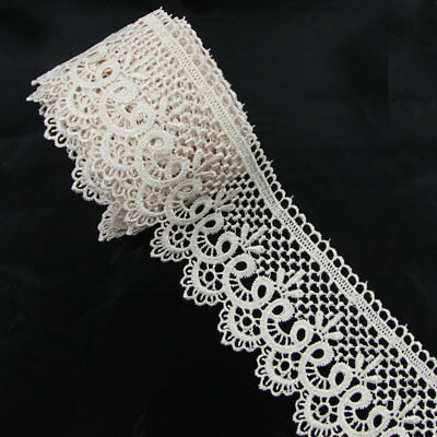 3 Yards Polyester Tan Applique Venise Lace Craft Embellishments Sewing Trims
