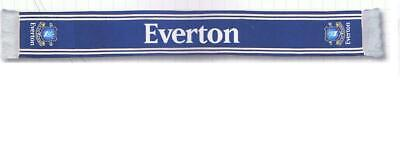 Everton Football Team  Jacquard Scarf * New With Tags