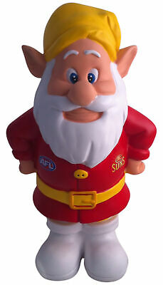 Gold Coast Suns AFL Garden Gnome In Team Colours * 2012 Model
