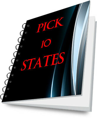 Tax Lien Certificate Tax Deed Tax Sale Guide PICK ANY 10 STATES!