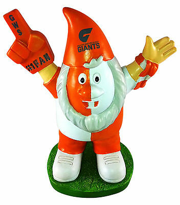 Greater Western Sydney Giants AFL Supporter Gnome * For Indoors or Outdoors!