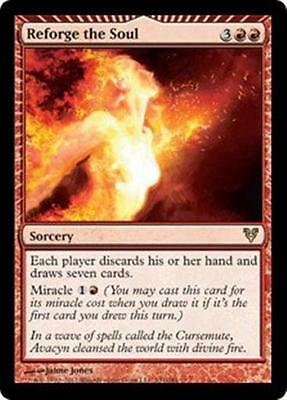 REFORGE THE SOUL Avacyn Restored MTG Red Sorcery RARE