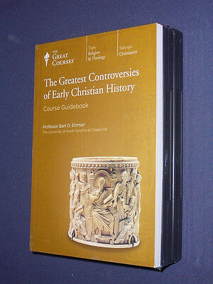 Teaching Co Great Courses CDs    GREATEST CONTROVERSIES  EARLY CHRISTIAN HISTORY