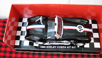 New Ray **1966 SHELBY COBRA 427 S/C..Brand New/Mint..1:32 Scale.. NICE