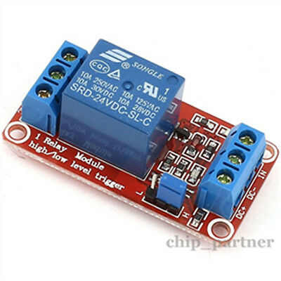 1pcs 12V 1-Channel Relay Module with Optocoupler H/L Level Triger for Arduino