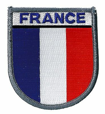 Patch écusson France armée OPEX patche insigne militaire brodé thermocollant