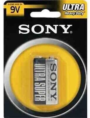 Sony Ultra S006PB1A - battery - 9V - Carbon Zinc