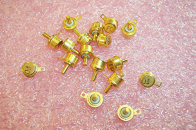 Qty (10)  Klixon 3Btf2-58 Tinystat Thermal Switch 285 Degree F Gold Plated Spst