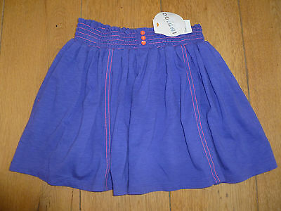 Marks And Spencer Purple Full Gathered Jersey Mini Skirt 6 7 8 9 10 11 13 14 New