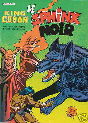 King Conan  Le Sphinx Noir   Artima Color Marvel Geant