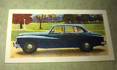 1959 DAIMLER MAJESTIC  Orig Colour  Trade Card UK