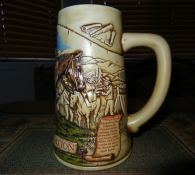 "Miller Genuine Draft Mug ""1804 Lewis & Clark Expedition"" 4th  in Series (552)"