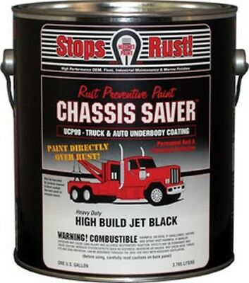 Chassis Saver Gloss Black, 1 Gallon MPC-UCP99-01 Brand New!