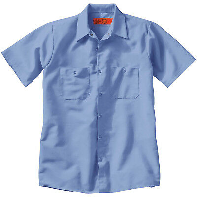 WHOLESALE LOT 12 NEW Uniform WORK SHIRT Red Kap Dickies FREE SHIPPING