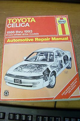 1986 1993 chilton toyota celica repair manual 1200 picclick haynes 92020 2038 toyota celica 1986 1993 front wheel drive repair manual fandeluxe Images